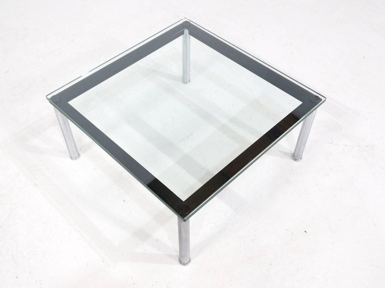 Le Corbusier Glass Table LC10 by Cassina 5