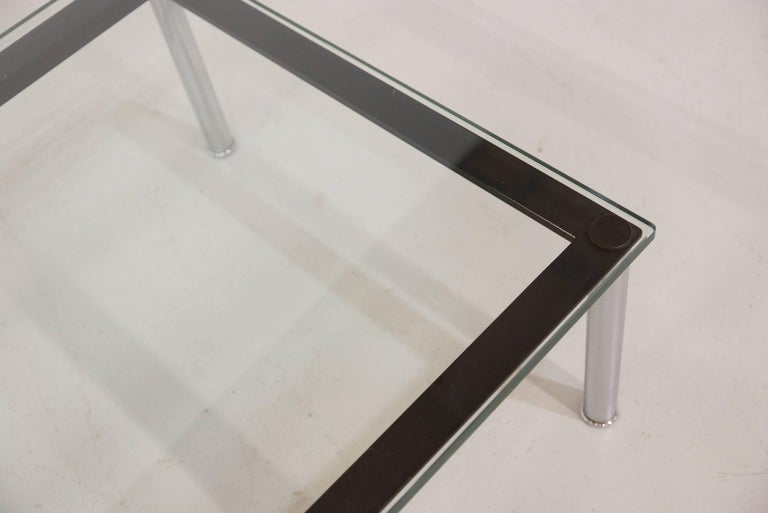 Le Corbusier Glass Table LC10 by Cassina 8