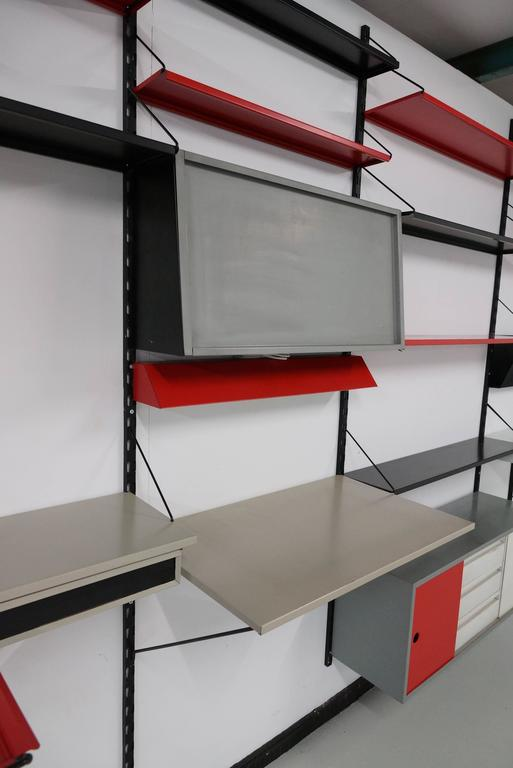 Sheet Metal Pilastro Modular Wall System by Tjerk Reijenga  For Sale