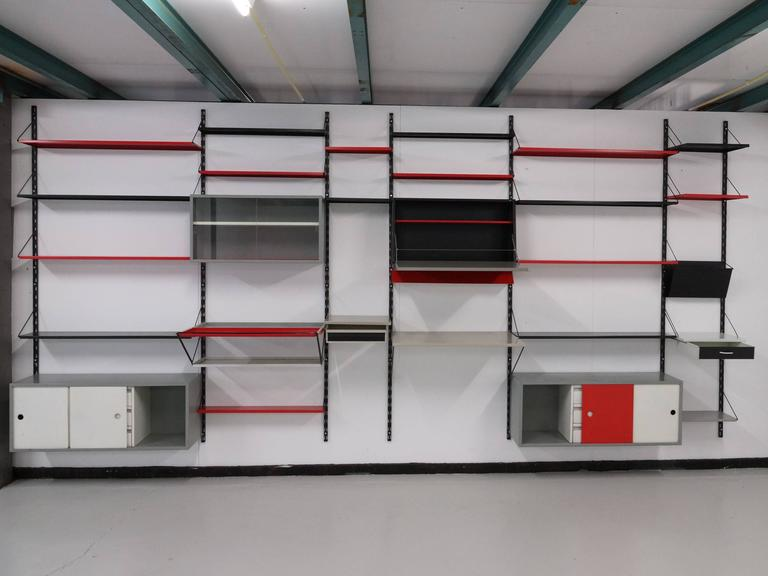 Mid-Century Modern Pilastro Modular Wall System by Tjerk Reijenga  For Sale