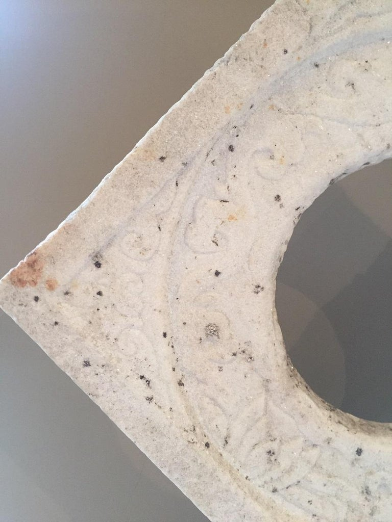 Chinese Marble Architectural Fragment Window For Sale 5