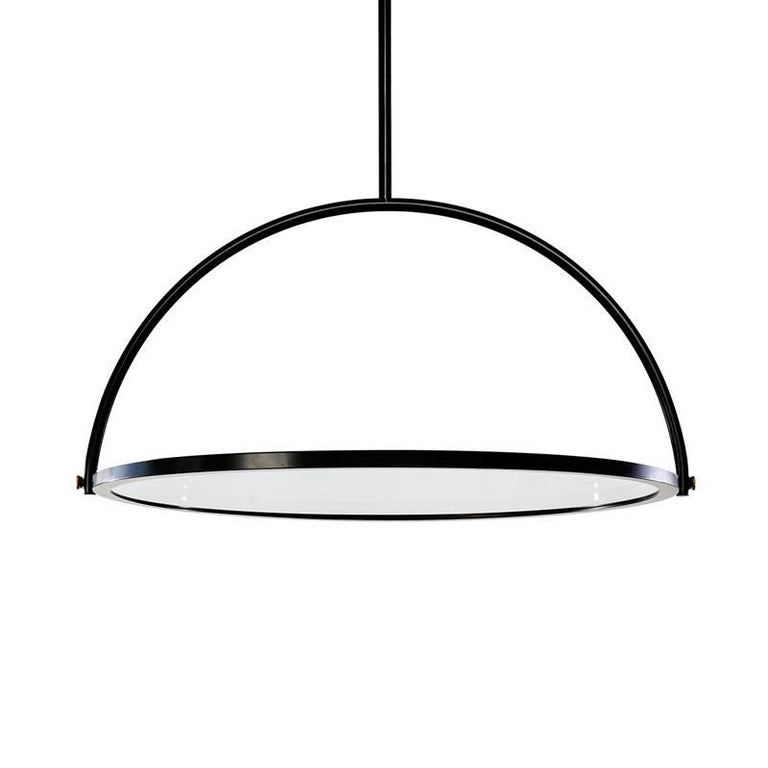 Presented during Operae seventh edition, OBLIO is a mirror turned lamp, a lamp turned mirror. More than an object, a state of transition. The shape loses memory of what it is, to become something else. What's the use for an unlit lamp? What's the