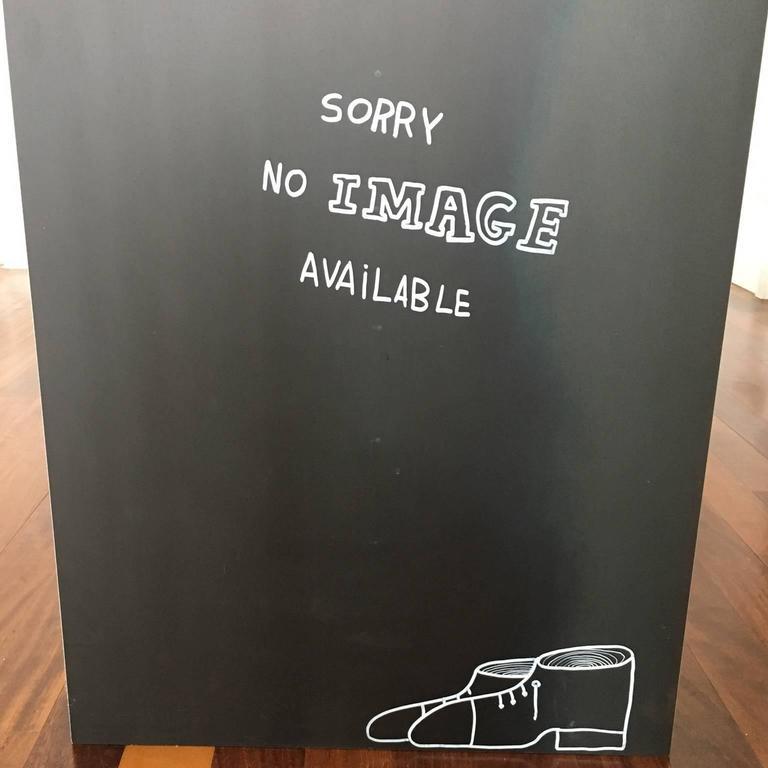 Italian 21st Century by Giovanni Casellato & MarCo Raparelli Metal Desk Table Black  For Sale