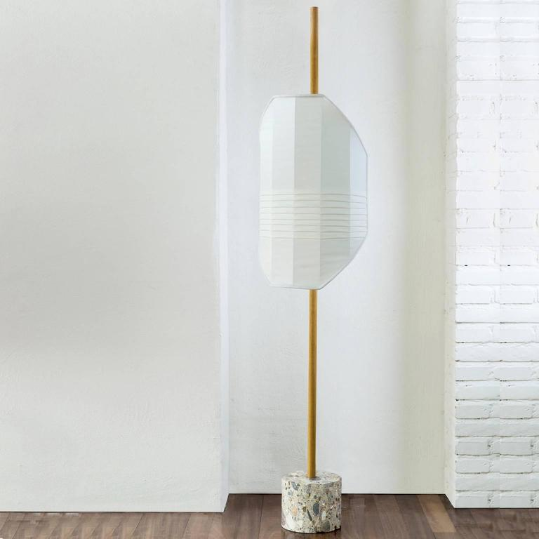 Modern Flag#1 Floor Lamp For Sale