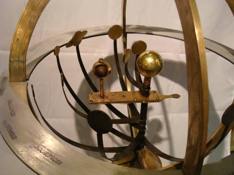 Fantastic Zodiac Armillary Sphere, Galaxy Globe, France In Good Condition For Sale In Buenos Aires, AR