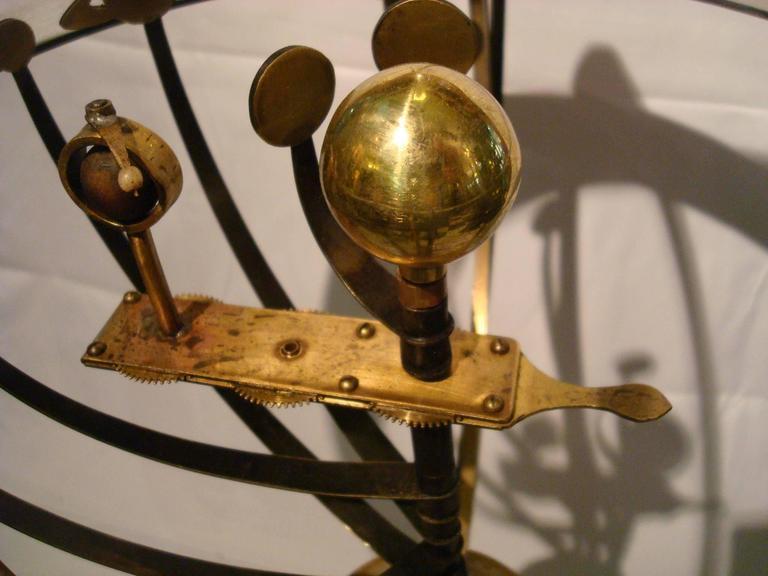 Brass Fantastic Zodiac Armillary Sphere, Galaxy Globe, France For Sale