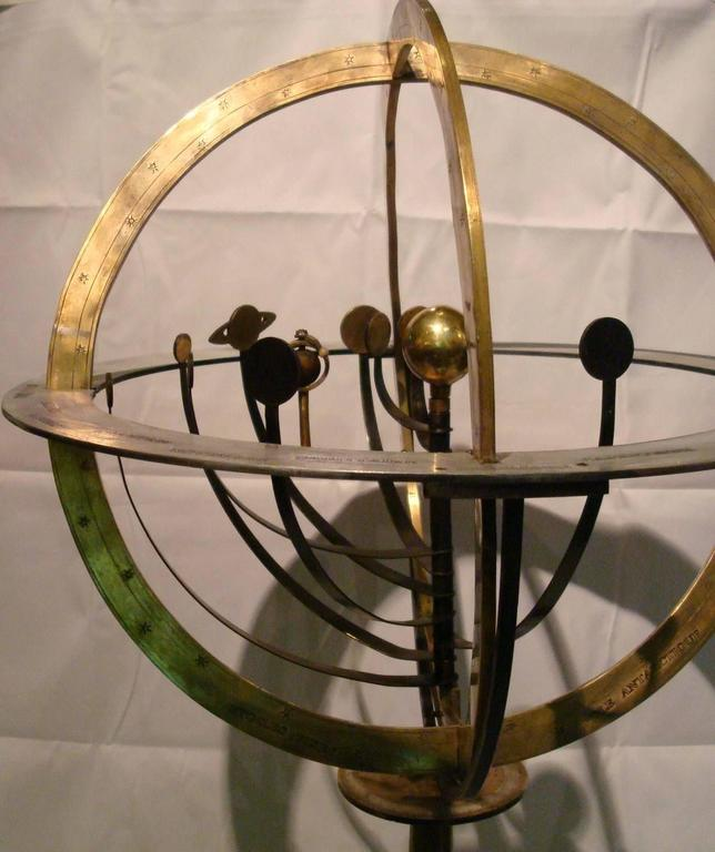 Fantastic Zodiac Armillary Sphere, Galaxy Globe, France 9