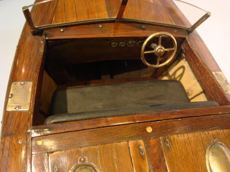 Chris Craft Speedboat Sales Model, circa 1930s Nautical For Sale 2