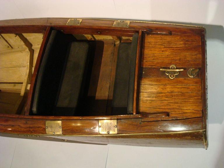 Chris Craft Speedboat Sales Model, circa 1930s Nautical For Sale 3