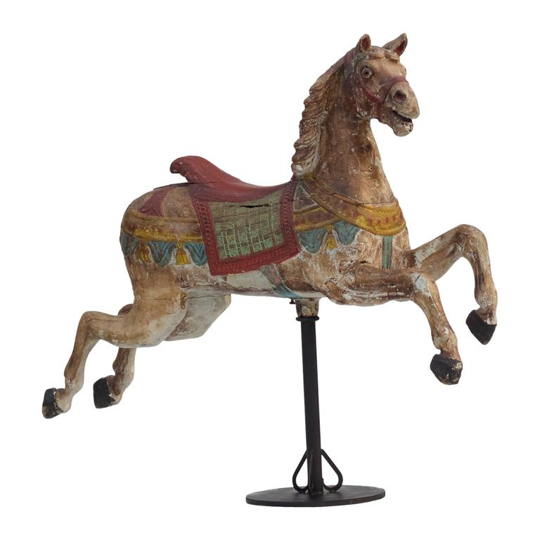 19th Century German Carousel Horse By Fredrich Heyn At 1stdibs