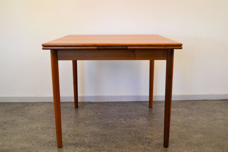 mid century modern danish design teak dining table for sale at 1stdibs