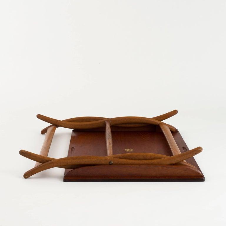 Scandinavian Modern Ole Wanscher Coffee Table for Rud. Rasmussen For Sale