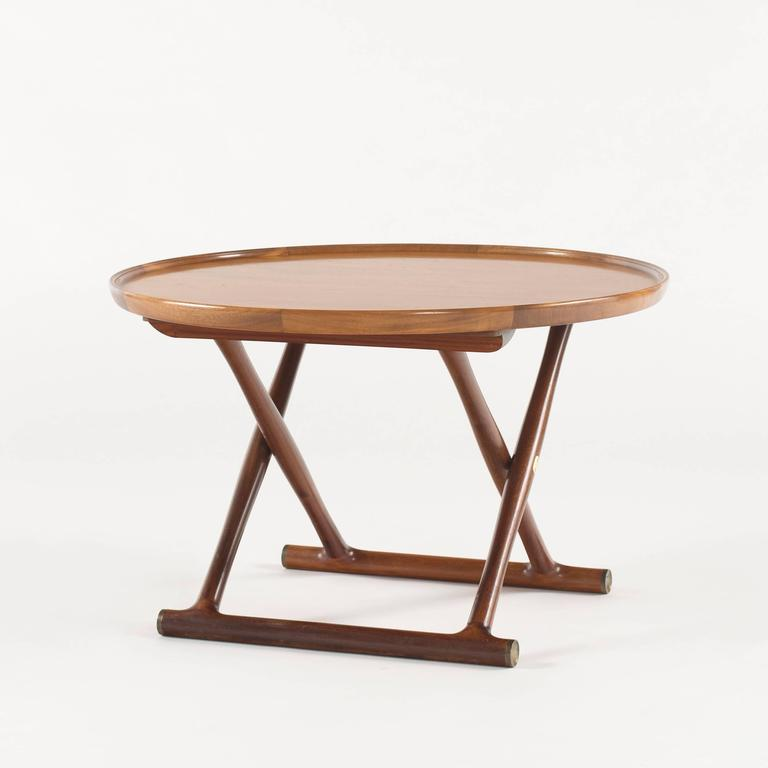 Mogens Lassen Egyptian Table For A J Iversen For Sale At 1stdibs