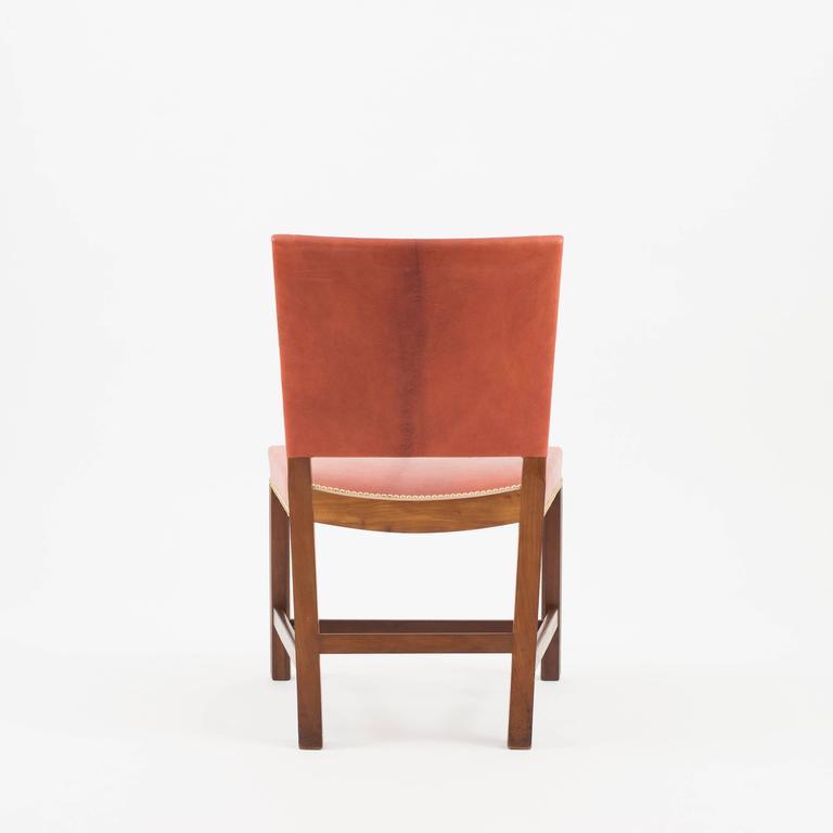 Scandinavian Modern Kaare Klint Red Chair, Rud. Rasmussen, 1930s For Sale