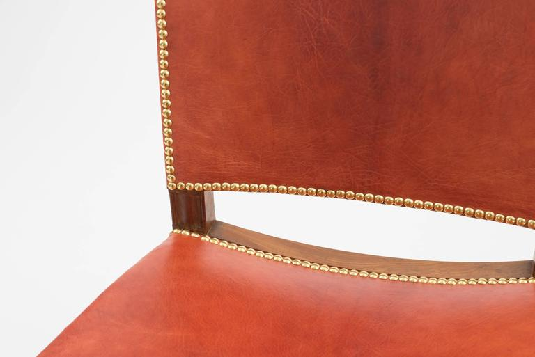 Mahogany Kaare Klint Red Chair, Rud. Rasmussen, 1930s For Sale