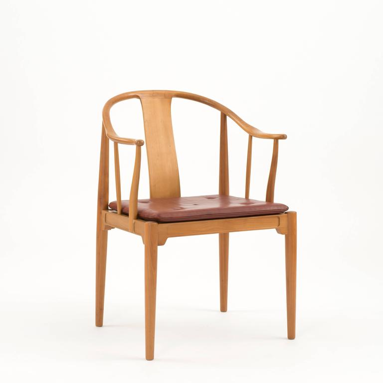 Scandinavian Modern Hans J. Wegner Chinese Chair For Fritz Hansen For Sale