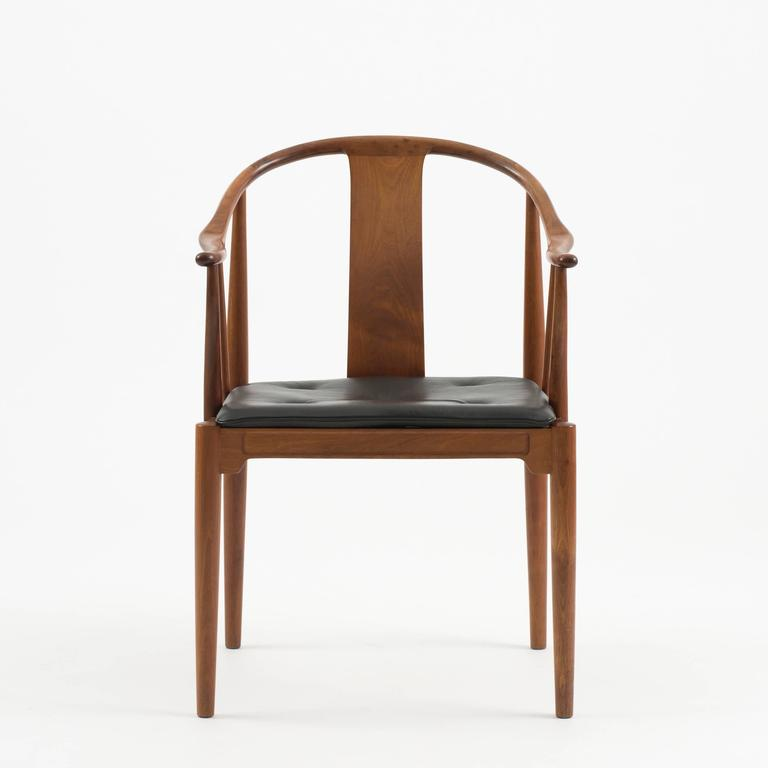 Perfect A Pair Of Chinese Chairs In Cuban Mahogany By Hans J. Wegner For Sale At  1stdibs