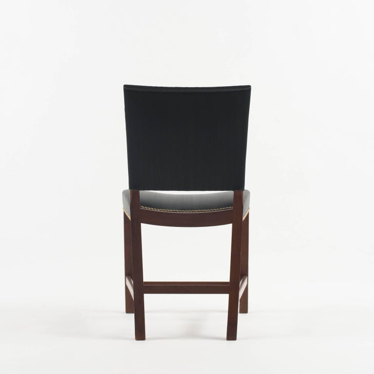 Scandinavian Modern Kaare Klint Red Chair for Rud. Rasmussen, 1930s For Sale