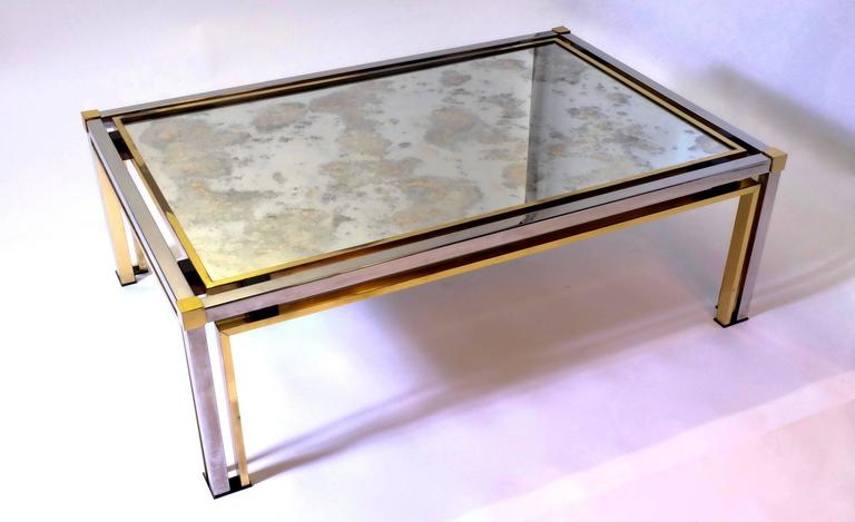 Mid-Century Modern Coffee Table by Rome Rega For Sale