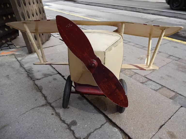 20th Century French Aeroplane for Children For Sale