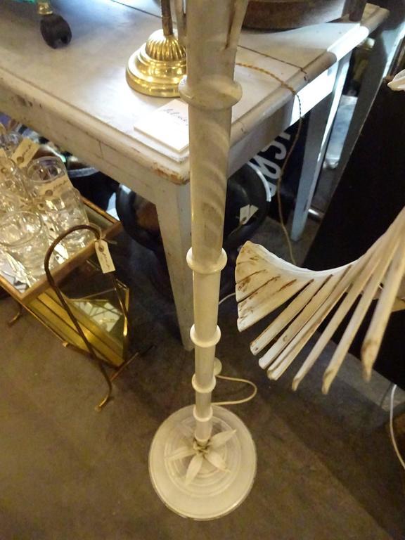Mid-20th Century Floor Palm Lamp In Good Condition In Copenhagen K, DK