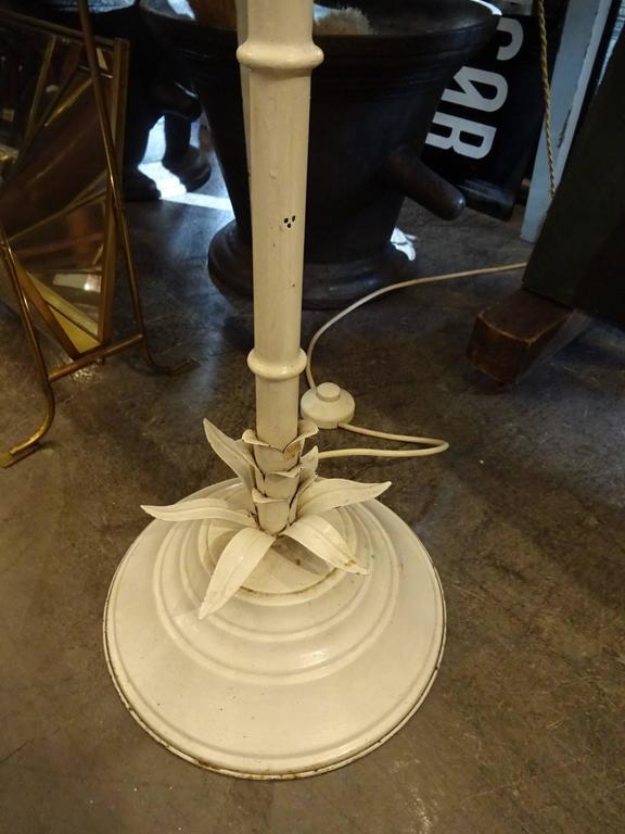 Iron Mid-20th Century Floor Palm Lamp