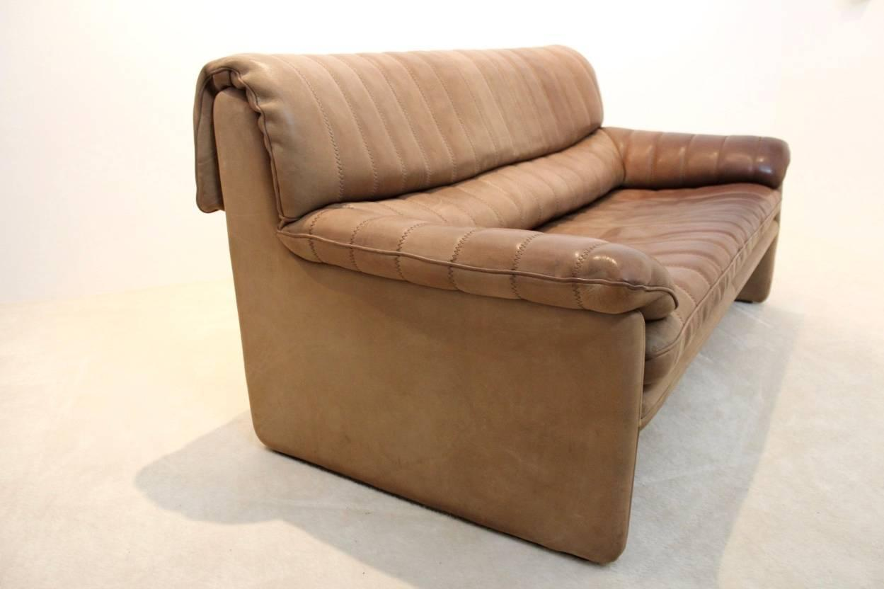 De Sede Ds 85 Mid Century Two Seat Sofa In Soft Thick