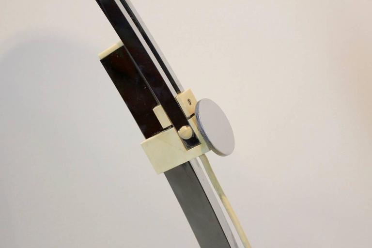 Goffredo Reggiani Italian Arc Floor Lamp At 1stdibs