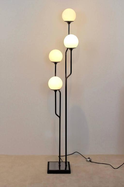 majestic goffredo reggiani italian floor lamp for sale at 1stdibs. Black Bedroom Furniture Sets. Home Design Ideas