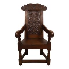 Early 20th Century Welsh Oak Armchair