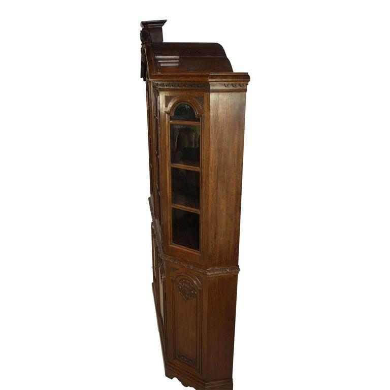 Late 19th Century Louis XV Style Hutch In Good Condition For Sale In Evergreen, CO