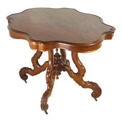 Early 20th Century Dutch Mahogany Occasional Table