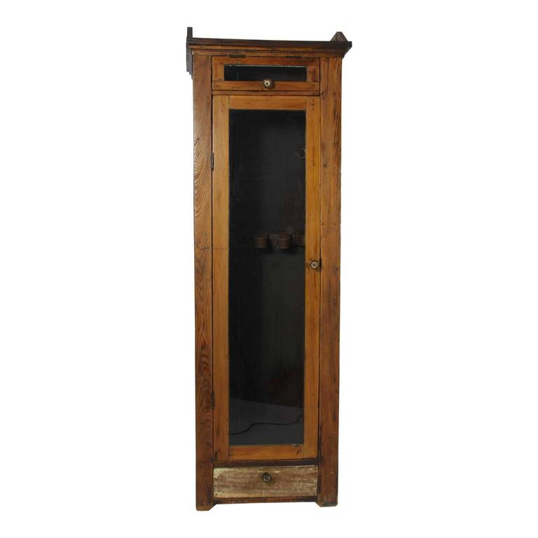 Wooden sports locker circa at stdibs