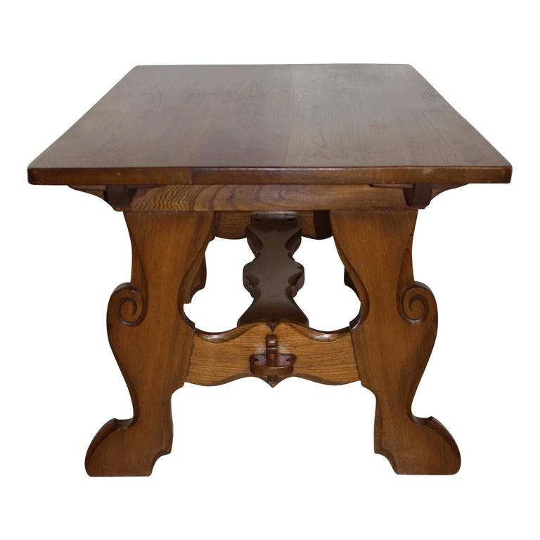 solid oak dining table and four chairs circa 1950 at 1stdibs
