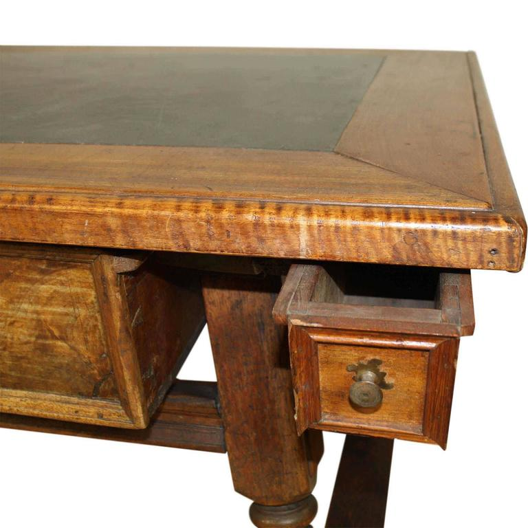 Walnut Kitchen Table: German Walnut Kitchen Table, Circa 1850 At 1stdibs