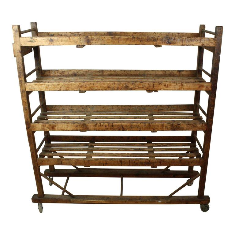 Industrial Drying Rack Cabinet ~ Th century european cobblers shoe drying rack at stdibs