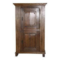 Normandic Two-Door Rustic Cabinet, circa 1865