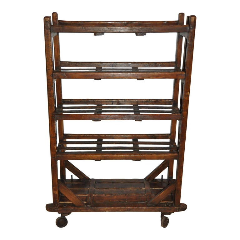 Industrial Drying Rack Cabinet ~ Cobbler s shoe drying rack circa for sale at stdibs