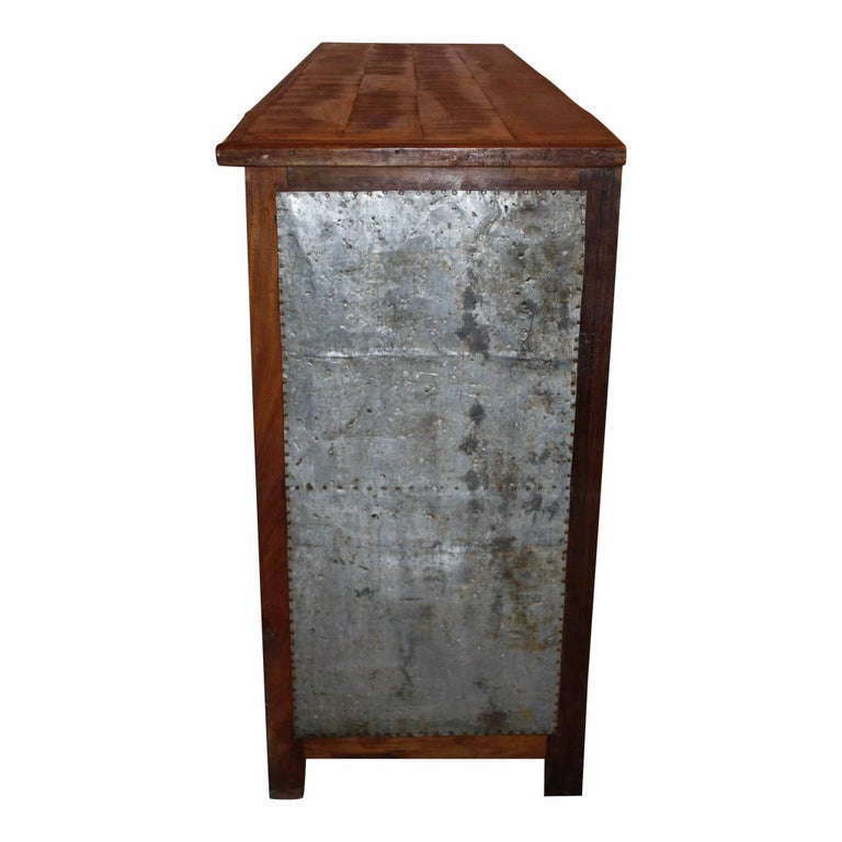 industrial chest with nine drawers at 1stdibs