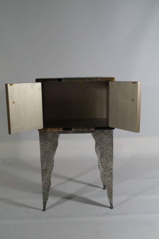 American Small Sottsass Memphis Style Cabinet, Usa, 1980s For Sale