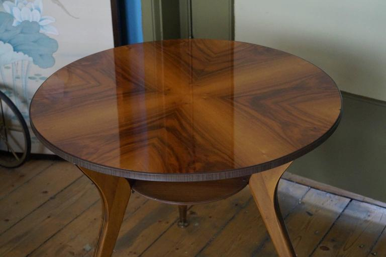 Gio Ponti Style Coffee Table, Italy, 1950s In Good Condition For Sale In Haarlem, Noord-Holland