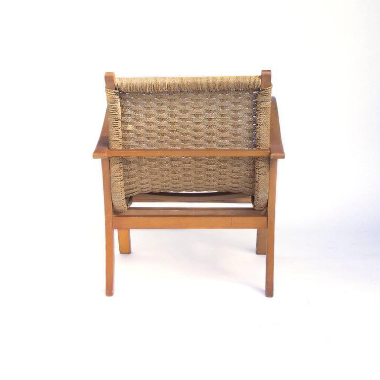Merveilleux Mid Century Modern 1960, Dutch Designer For Vu0026D Holland, Easy Chair In Wood