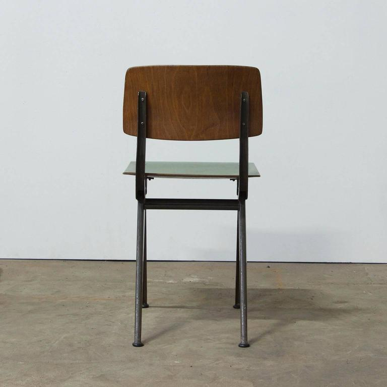 "1958, Friso Kramer, Very Rare Teenager Size Result Chair for ""De Cirkel, Holland 4"