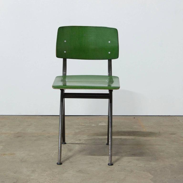 "1958, Friso Kramer, Very Rare Teenager Size Result Chair for ""De Cirkel, Holland 5"
