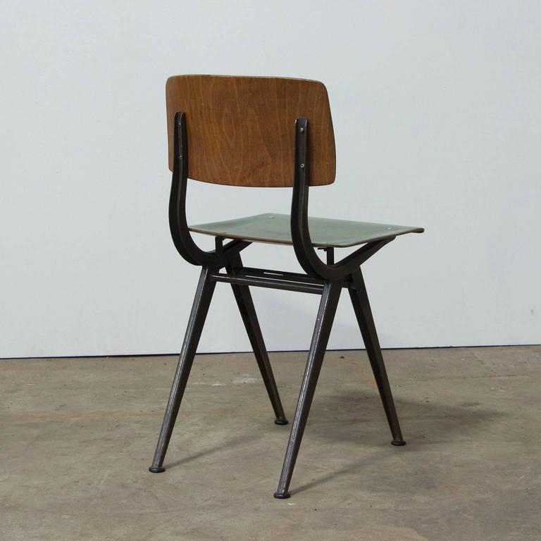 "1958, Friso Kramer, Very Rare Teenager Size Result Chair for ""De Cirkel, Holland 3"