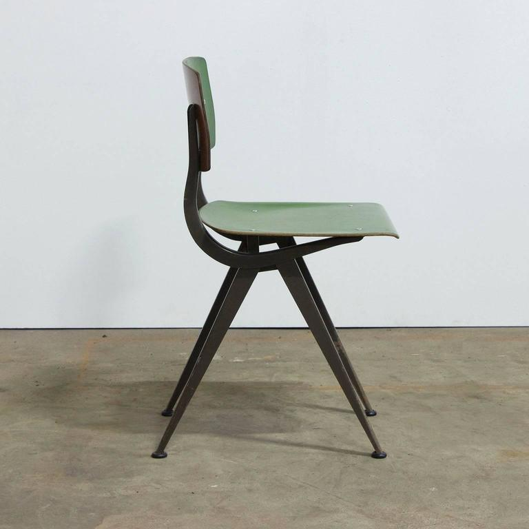 "1958, Friso Kramer, Very Rare Teenager Size Result Chair for ""De Cirkel, Holland 2"