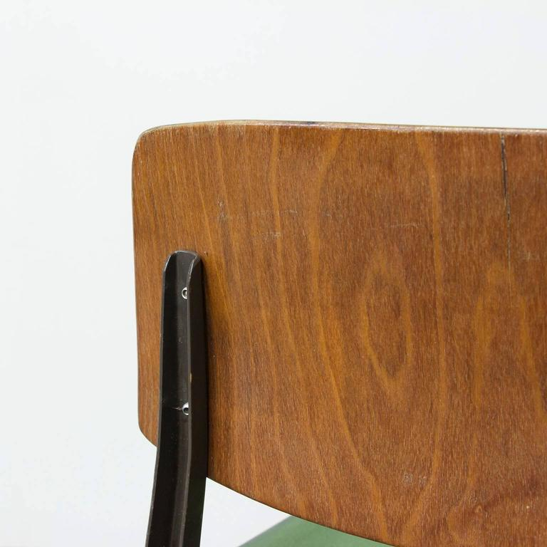 "1958, Friso Kramer, Very Rare Teenager Size Result Chair for ""De Cirkel, Holland 9"