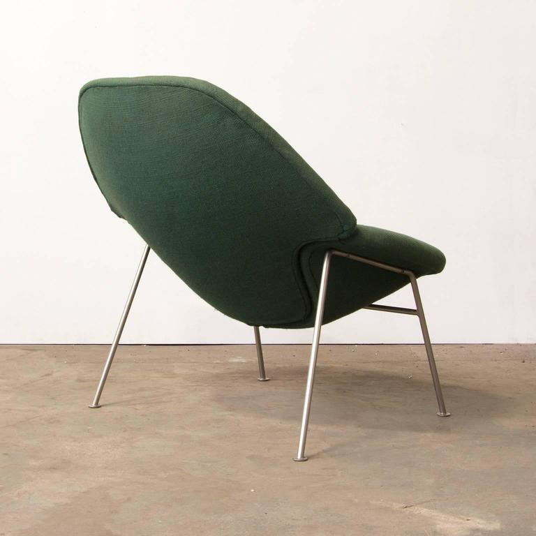 Pierre Paulin Ribbon Chairs In Missoni Fabric At 1stdibs: 1960, Pierre Paulin, Rare 555 Easy Chair In Original Green