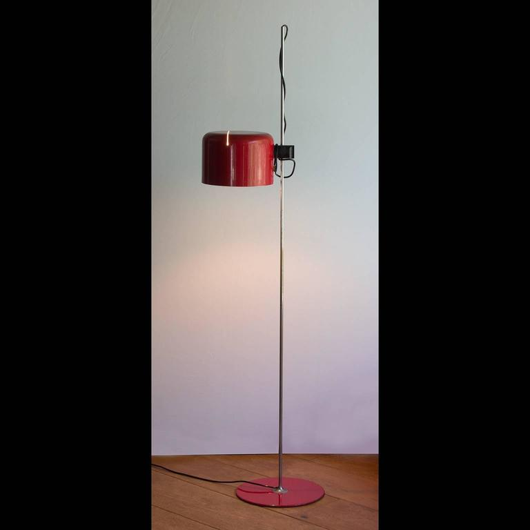 1967, Joe Colombo for O-Luce Red \