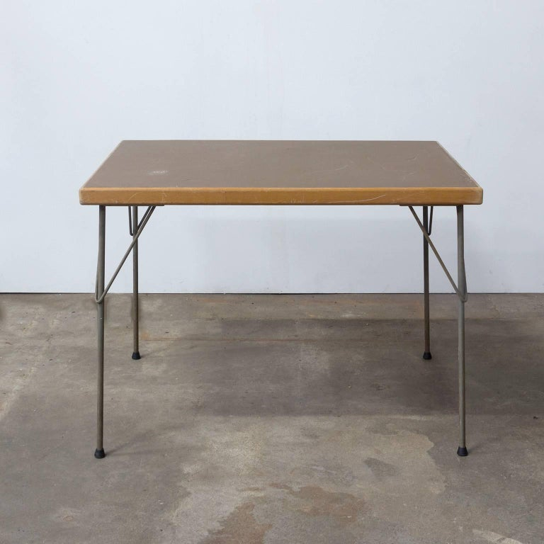 1950, Wim Rietveld for Gispen Holland, Original Dinner Table 2